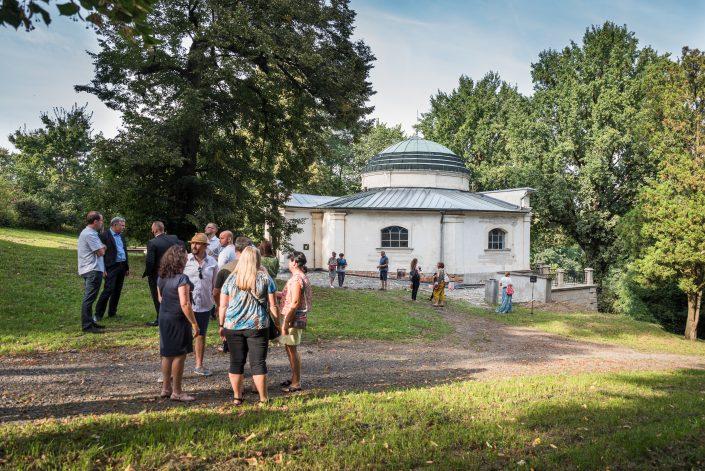 Hrobka Marie von Ebner-Eschenbach na Kroměřížsku, Foto: Jakub Šnajdr, Zdroj: Meeting Brno